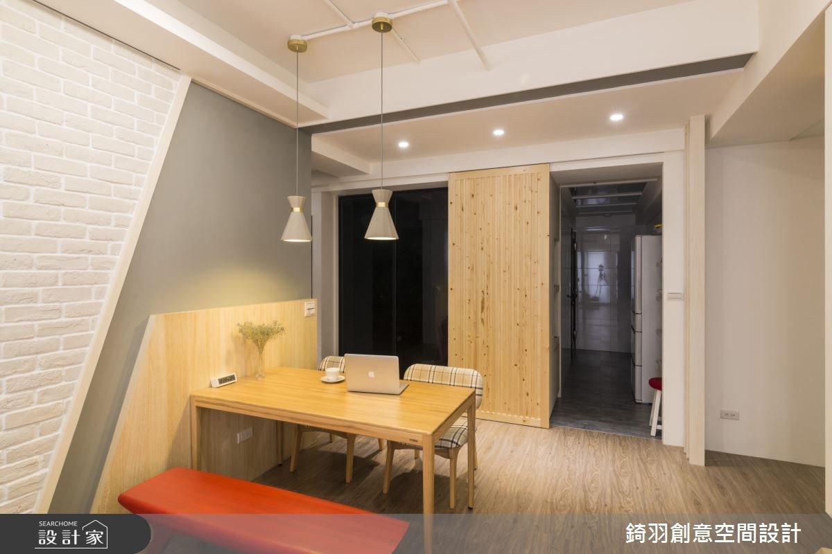 25坪新成屋(5年以下)_北歐風餐廳案例圖片_錡羽創意空間設計_錡羽_15之12