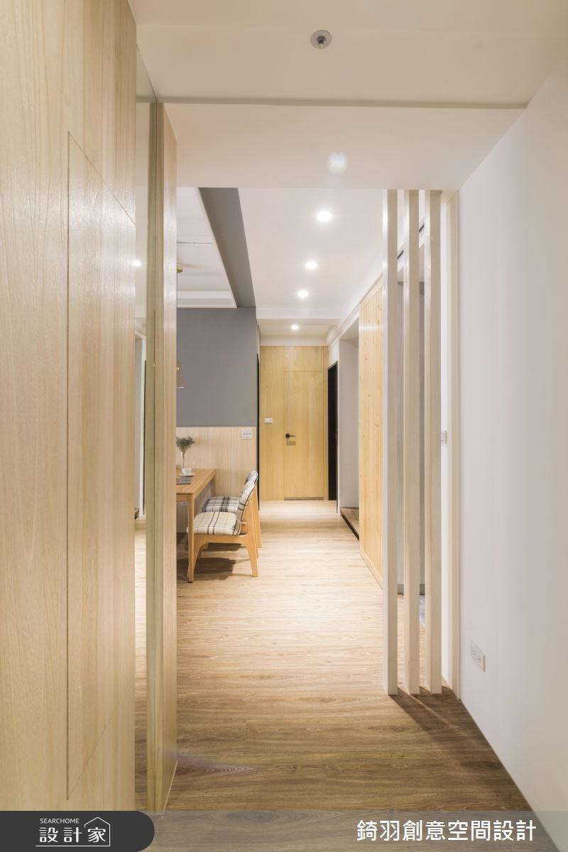 25坪新成屋(5年以下)_北歐風走廊案例圖片_錡羽創意空間設計_錡羽_15之14