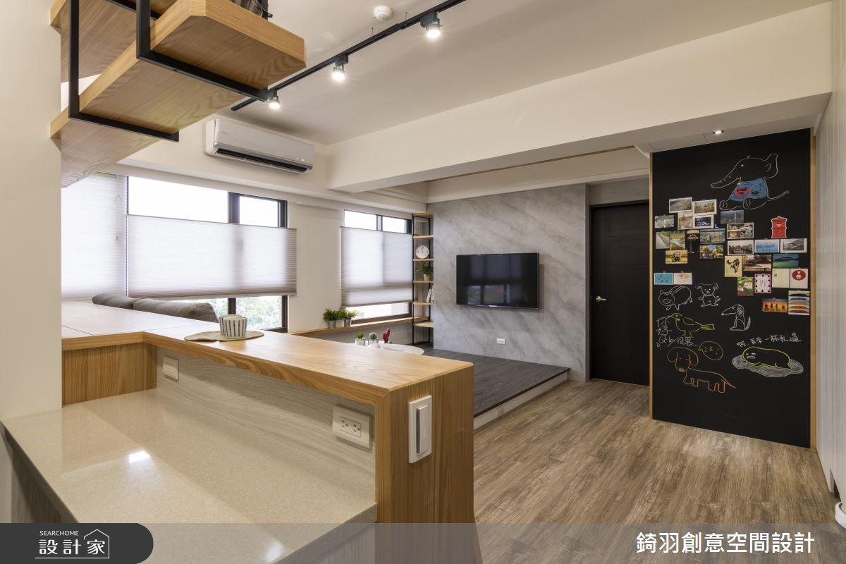 15坪新成屋(5年以下)_工業風吧檯案例圖片_錡羽創意空間設計_錡羽_21之6