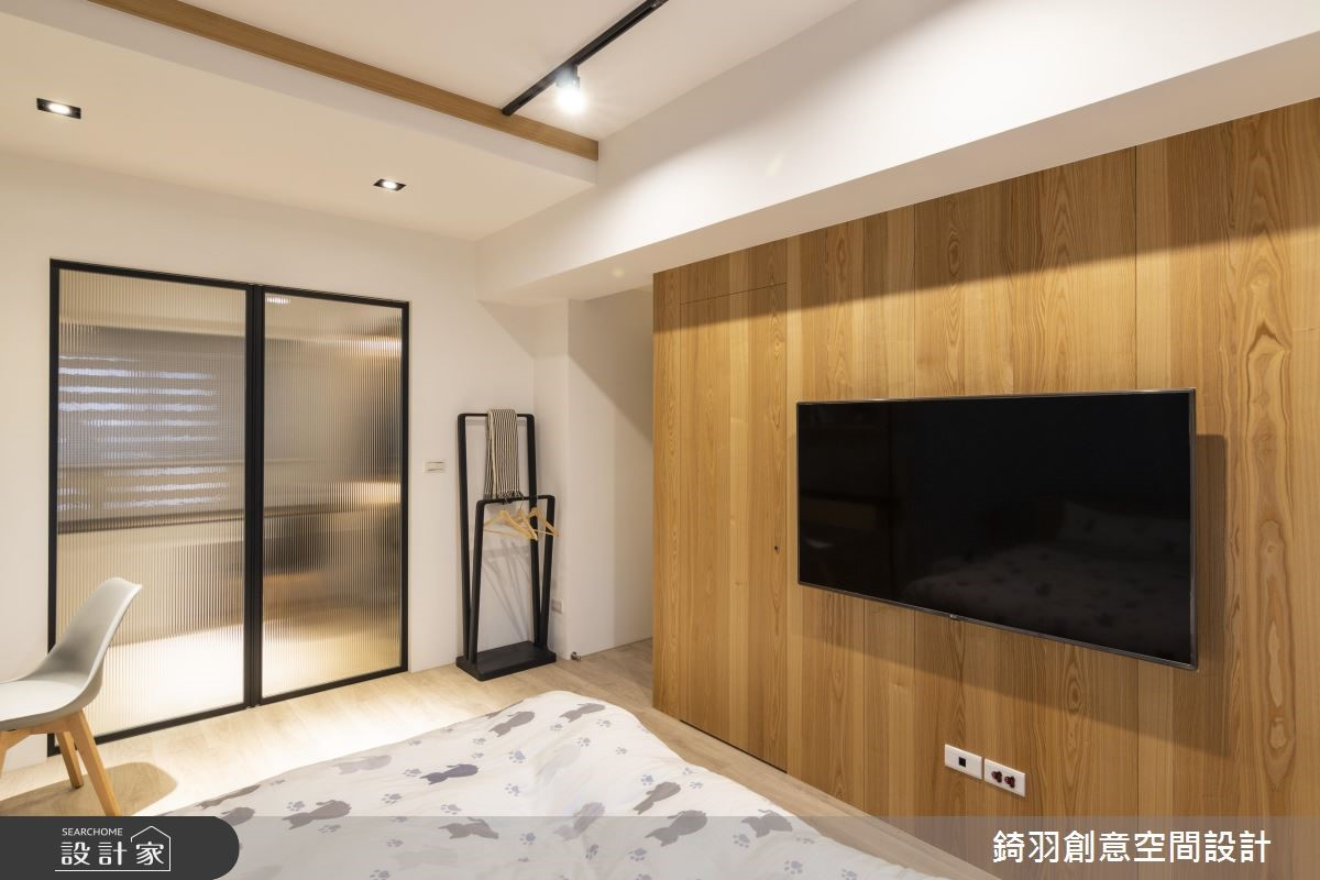 25坪預售屋_工業風臥室案例圖片_錡羽創意空間設計_錡羽_24之16