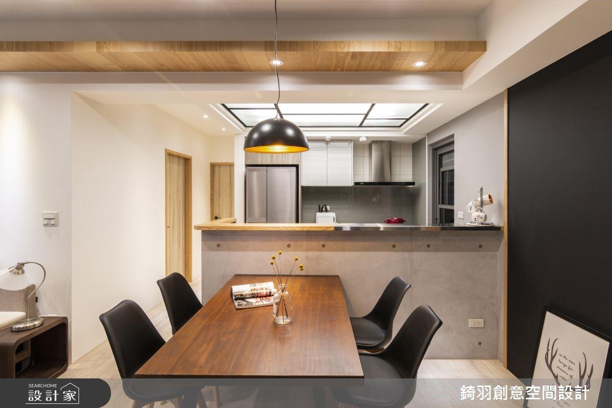 25坪預售屋_工業風餐廳案例圖片_錡羽創意空間設計_錡羽_24之6