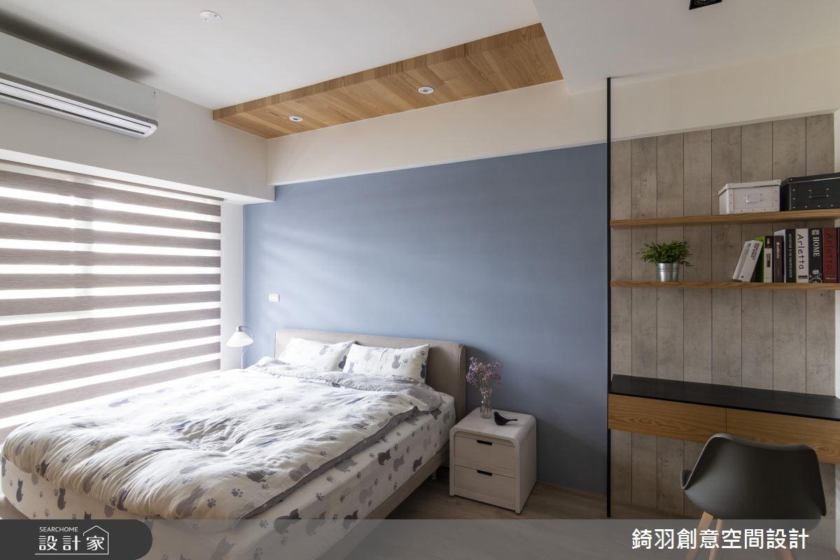 25坪預售屋_工業風臥室案例圖片_錡羽創意空間設計_錡羽_24之10