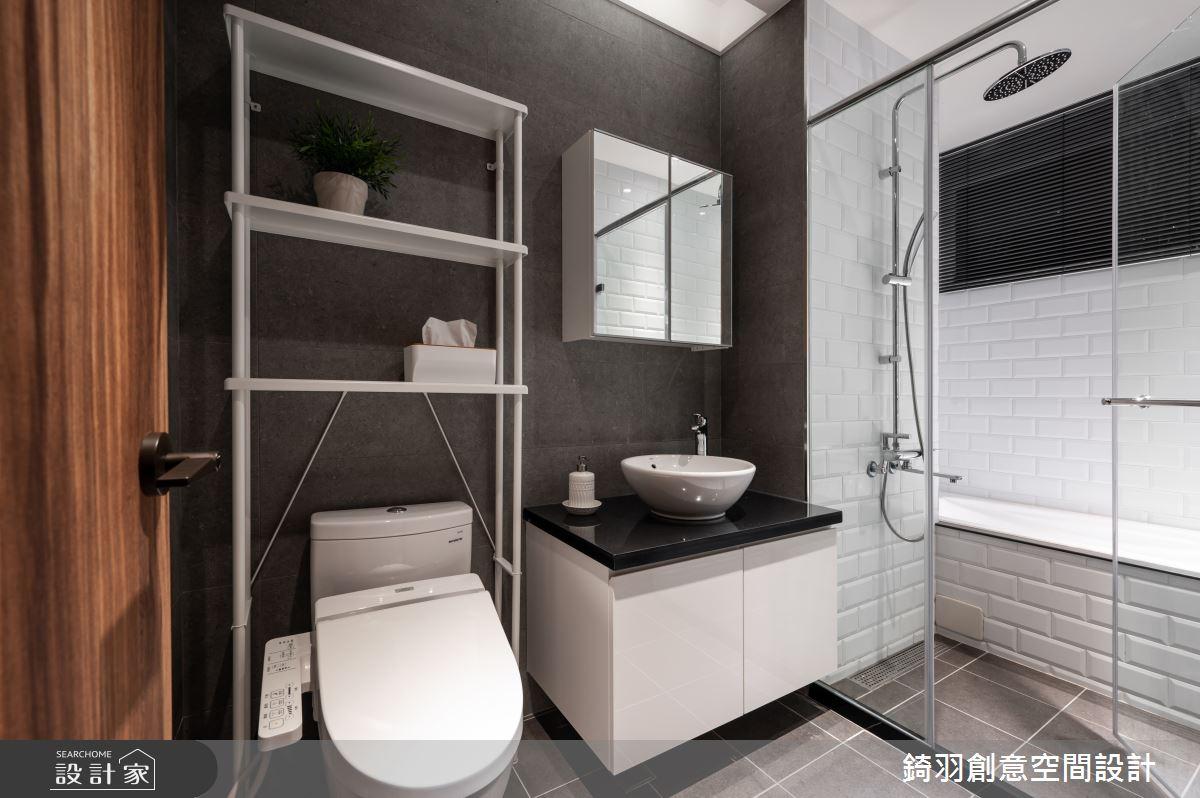 14坪新成屋(5年以下)_工業風浴室案例圖片_錡羽創意空間設計_錡羽_29之13