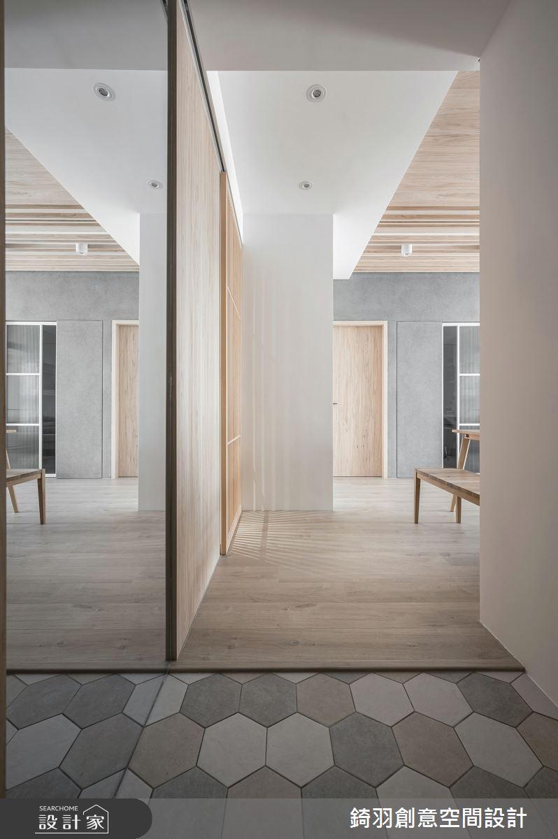 20坪新成屋(5年以下)_日式無印風玄關案例圖片_錡羽創意空間設計_錡羽_30之1