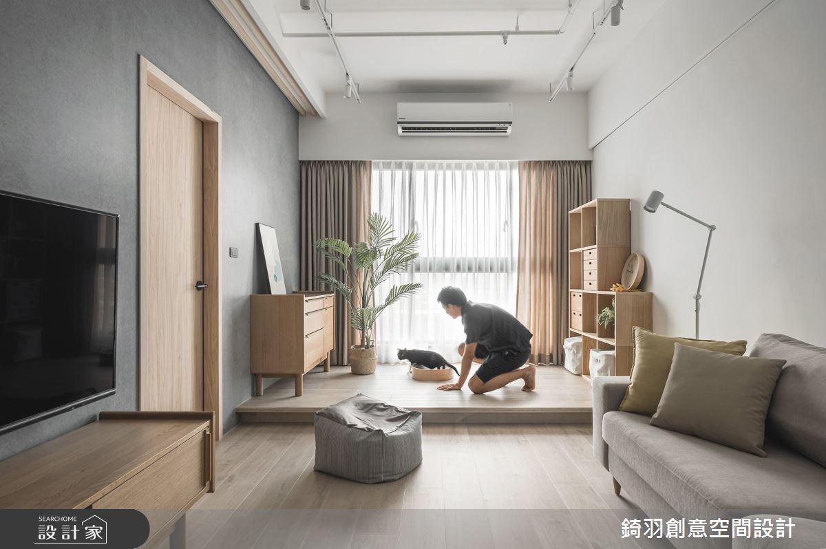20坪新成屋(5年以下)_日式無印風客廳案例圖片_錡羽創意空間設計_錡羽_30之15
