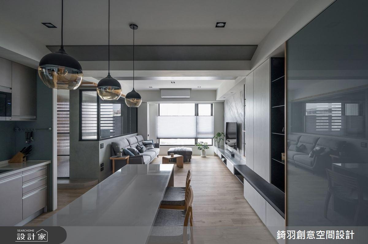 28坪新成屋(5年以下)_現代風案例圖片_錡羽創意空間設計_錡羽_31之2