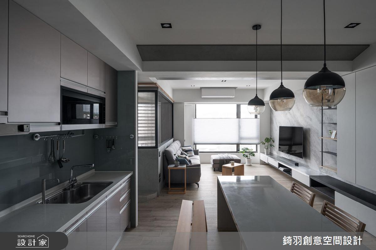 28坪新成屋(5年以下)_現代風案例圖片_錡羽創意空間設計_錡羽_31之4