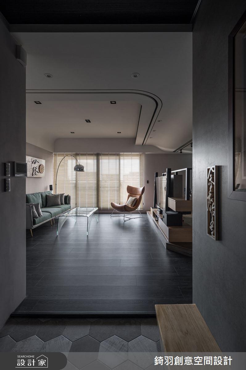 38坪新成屋(5年以下)_現代風案例圖片_錡羽創意空間設計_錡羽_33之2