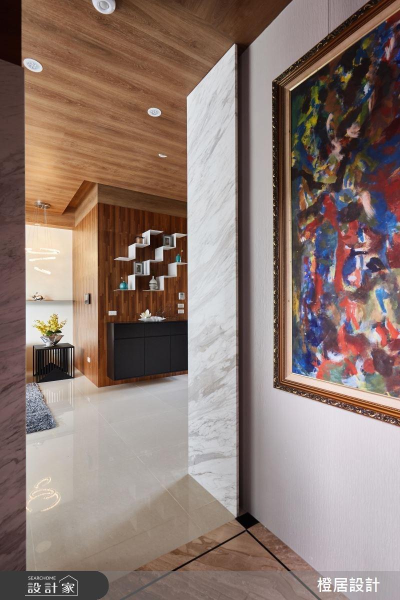 130坪新成屋(5年以下)_混搭風玄關案例圖片_橙居空間設計有限公司_橙居_04之2