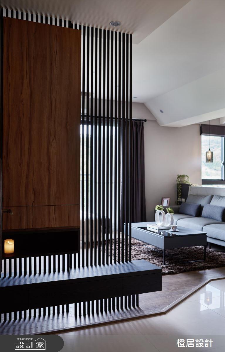 32坪新成屋(5年以下)_現代風玄關案例圖片_橙居空間設計有限公司_橙居_05之2