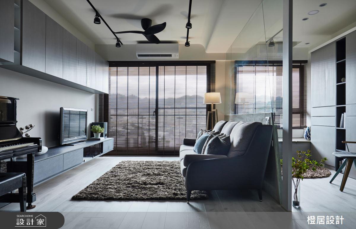北歐風和輕工業風的美型混血!化機能於生活的 26 坪小家庭住宅
