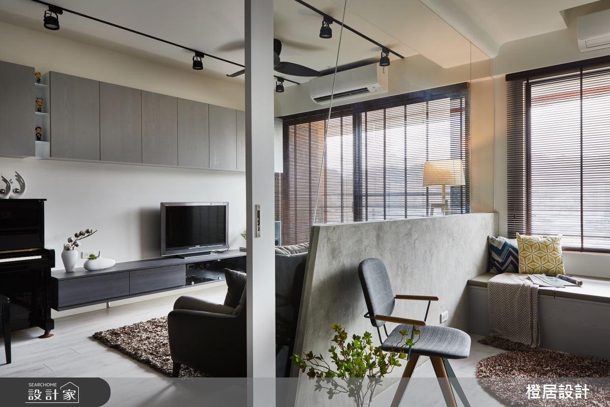 26坪預售屋_混搭風客廳和室案例圖片_橙居空間設計有限公司_橙居_06之8