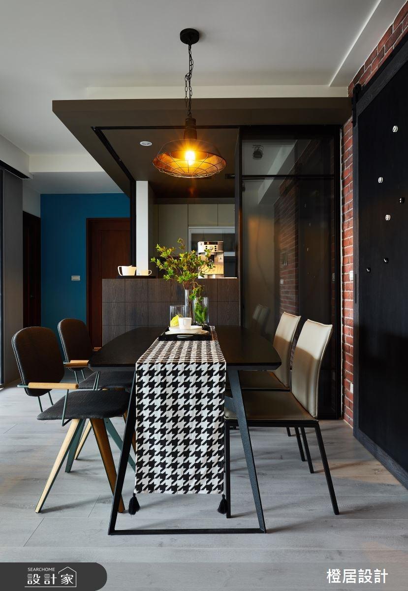 26坪預售屋_混搭風餐廳案例圖片_橙居空間設計有限公司_橙居_06之12