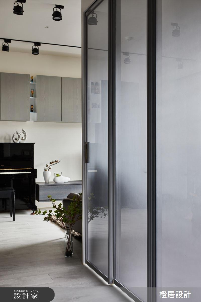 26坪預售屋_混搭風走廊案例圖片_橙居空間設計有限公司_橙居_06之14