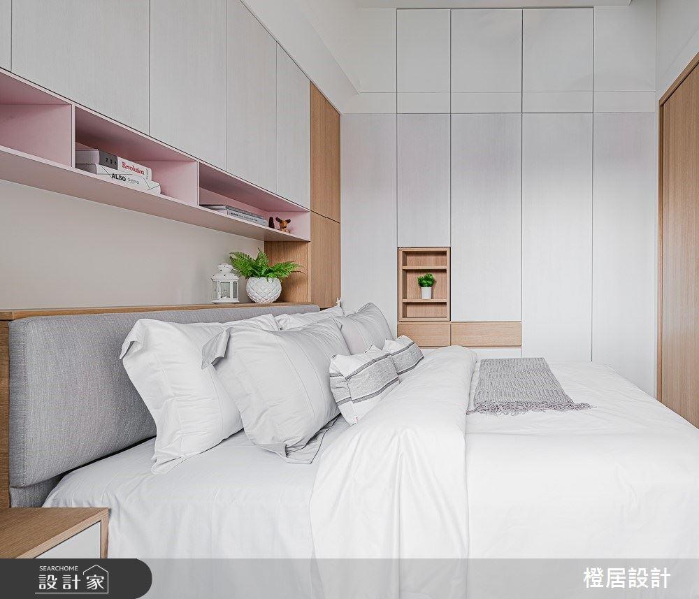 15坪新成屋(5年以下)_北歐風臥室案例圖片_橙居空間設計有限公司_橙居_09之14