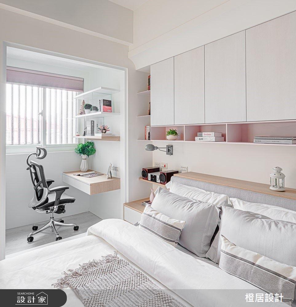 15坪新成屋(5年以下)_北歐風臥室案例圖片_橙居空間設計有限公司_橙居_09之16