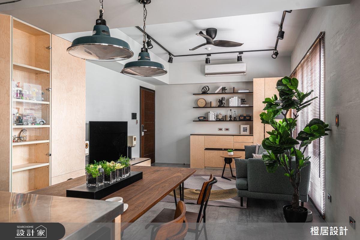 27坪新成屋(5年以下)_北歐風餐廳案例圖片_橙居空間設計有限公司_橙居_12之26