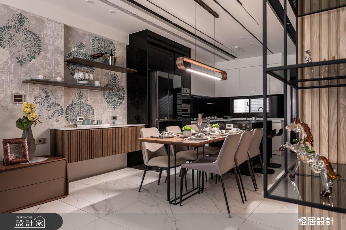 135坪新成屋(5年以下)_現代風餐廳案例圖片_橙居空間設計有限公司_橙居_13之4