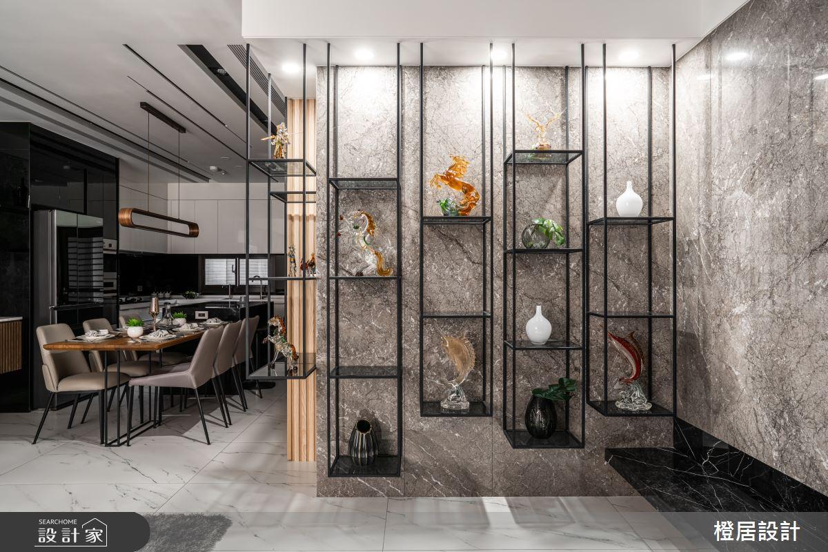 135坪新成屋(5年以下)_現代風餐廳案例圖片_橙居空間設計有限公司_橙居_13之9