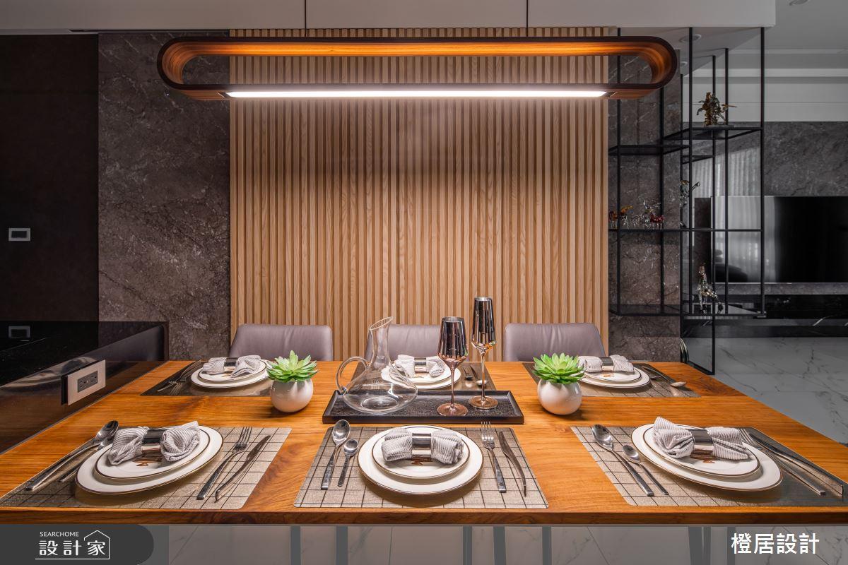 135坪新成屋(5年以下)_現代風餐廳案例圖片_橙居空間設計有限公司_橙居_13之5