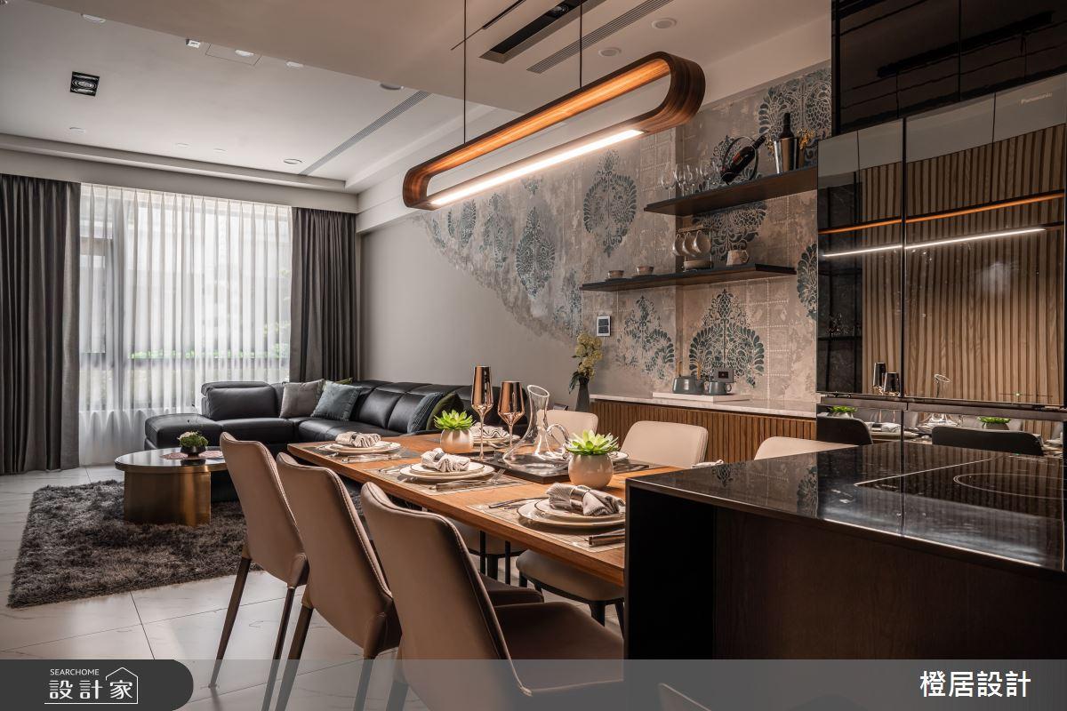 135坪新成屋(5年以下)_現代風餐廳案例圖片_橙居空間設計有限公司_橙居_13之7