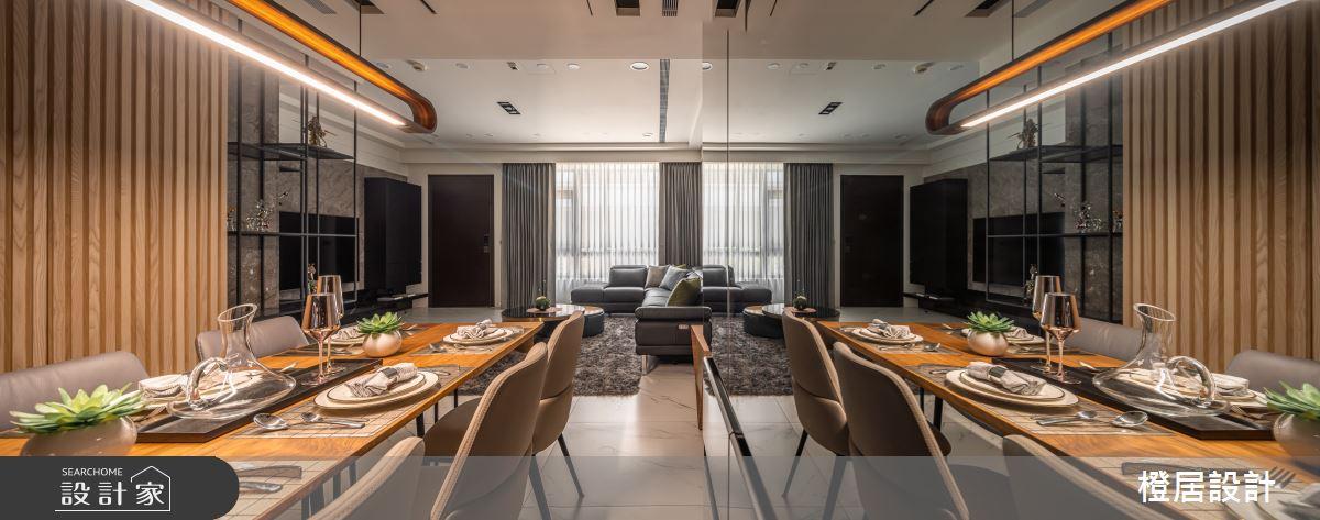135坪新成屋(5年以下)_現代風餐廳案例圖片_橙居空間設計有限公司_橙居_13之8