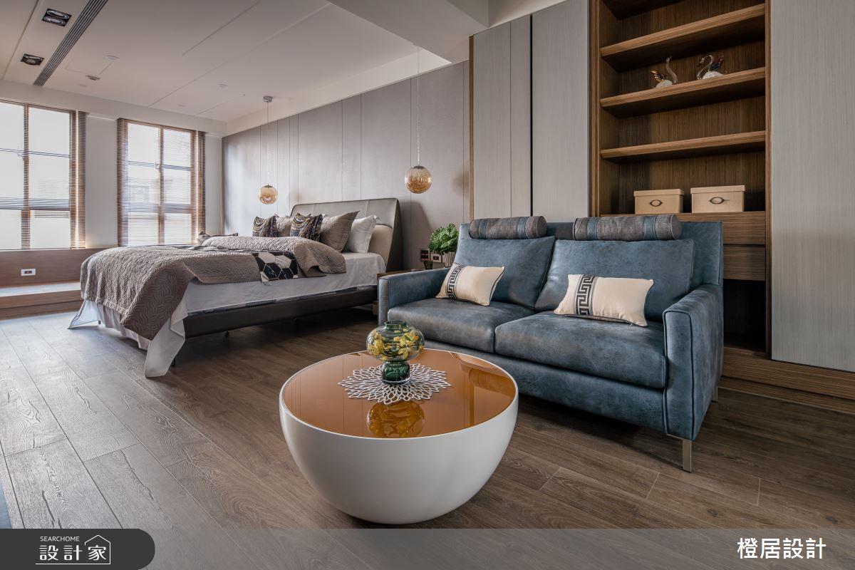 135坪新成屋(5年以下)_現代風臥室案例圖片_橙居空間設計有限公司_橙居_13之12