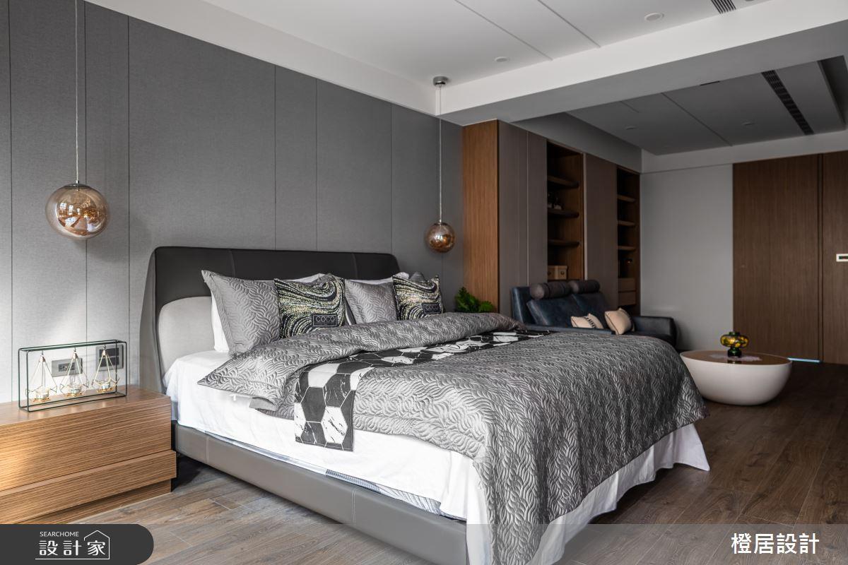 135坪新成屋(5年以下)_現代風臥室案例圖片_橙居空間設計有限公司_橙居_13之16