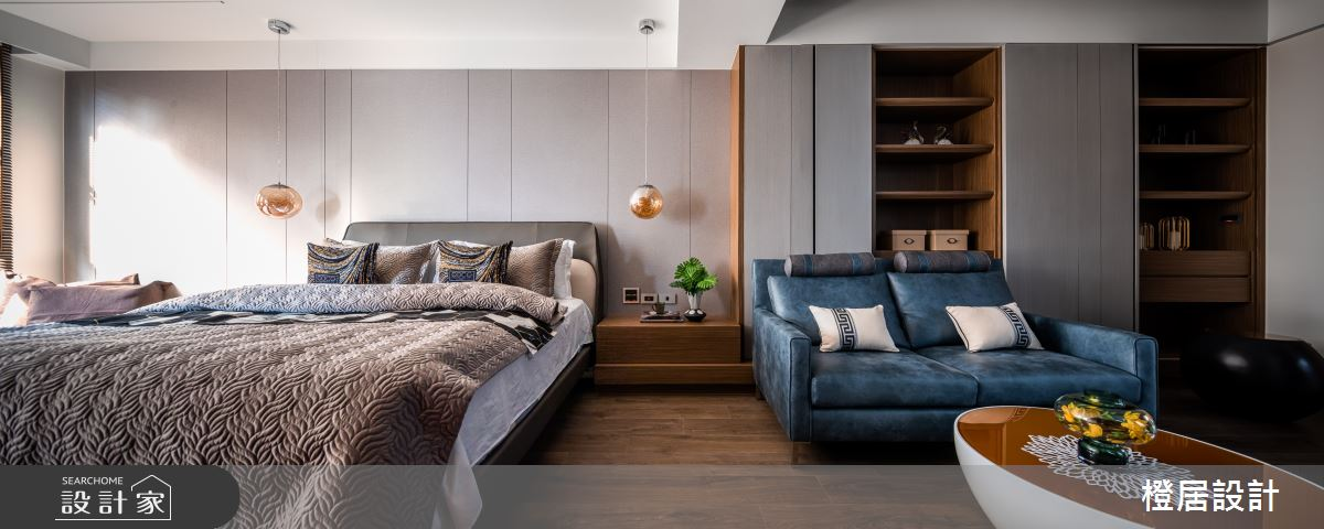 135坪新成屋(5年以下)_現代風臥室案例圖片_橙居空間設計有限公司_橙居_13之10