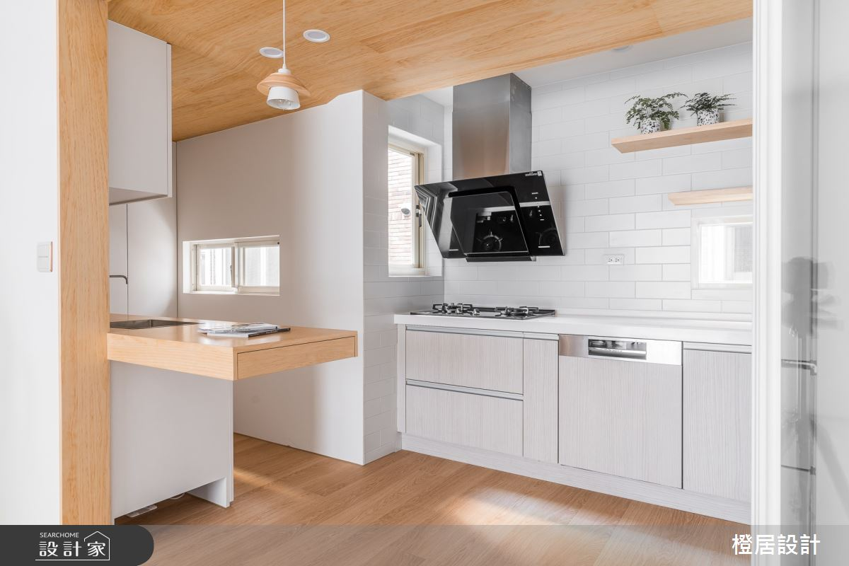 60坪老屋(16~30年)_北歐風廚房案例圖片_橙居空間設計有限公司_橙居_15之12