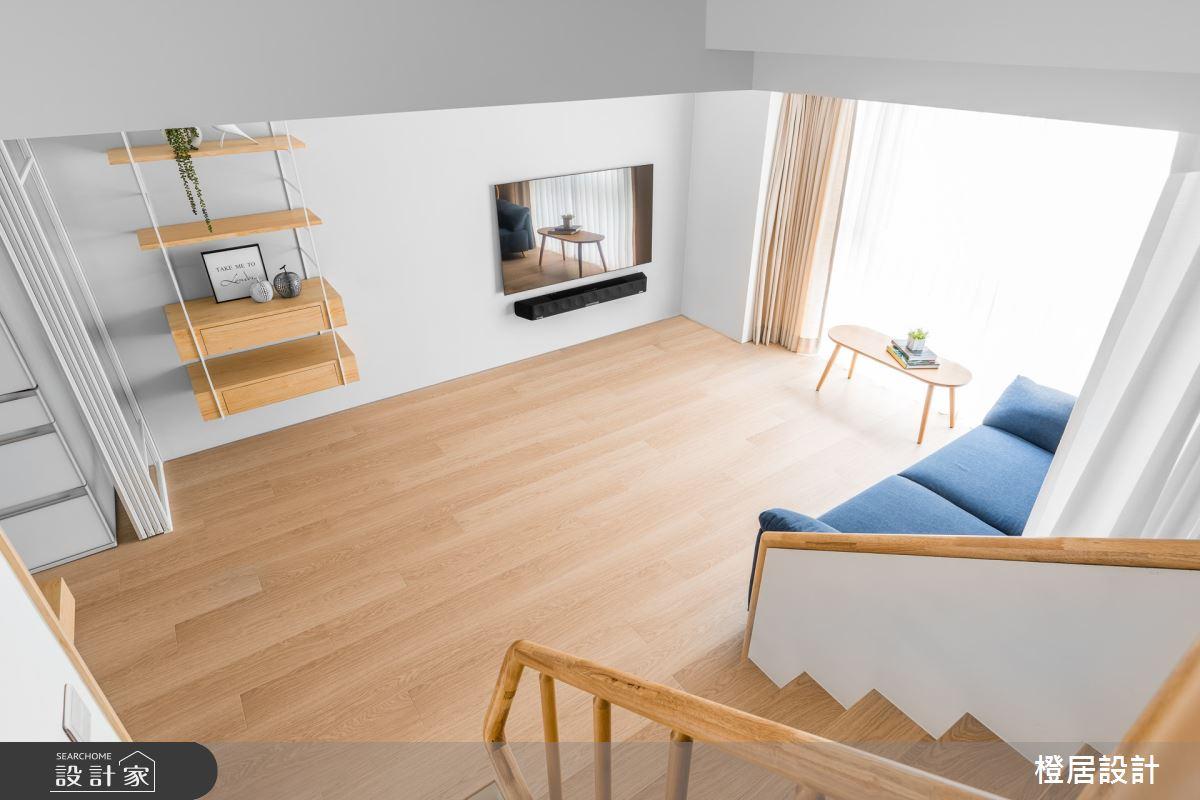 60坪老屋(16~30年)_北歐風客廳案例圖片_橙居空間設計有限公司_橙居_15之4