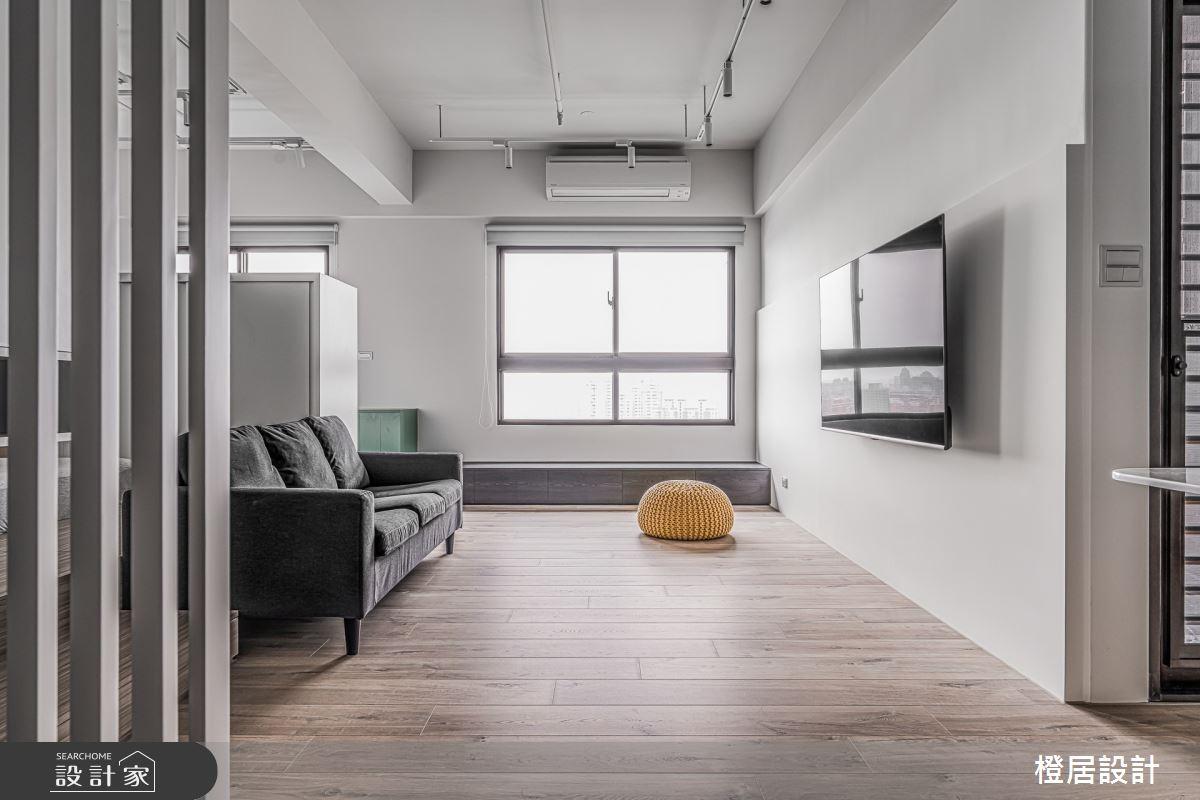 16坪新成屋(5年以下)_現代風客廳案例圖片_橙居空間設計有限公司_橙居_16之2