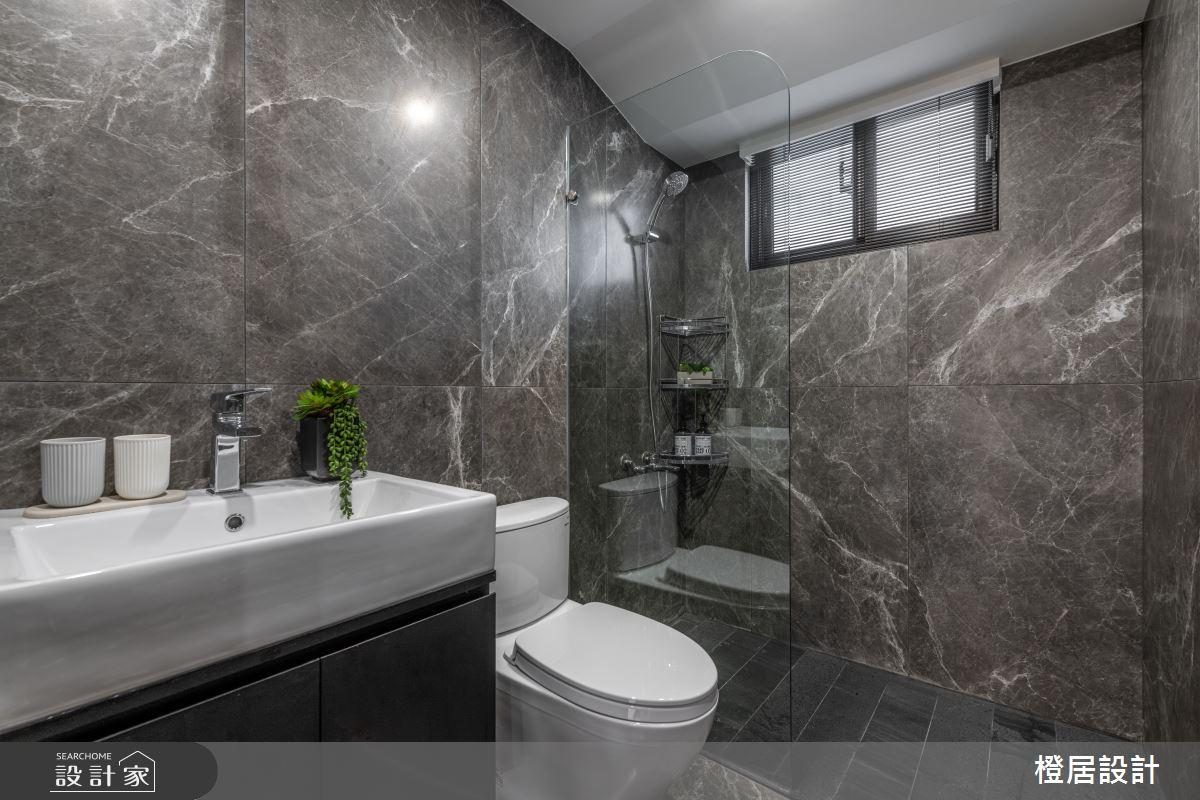 28坪中古屋(5~15年)_現代風浴室案例圖片_橙居空間設計有限公司_橙居_17之19