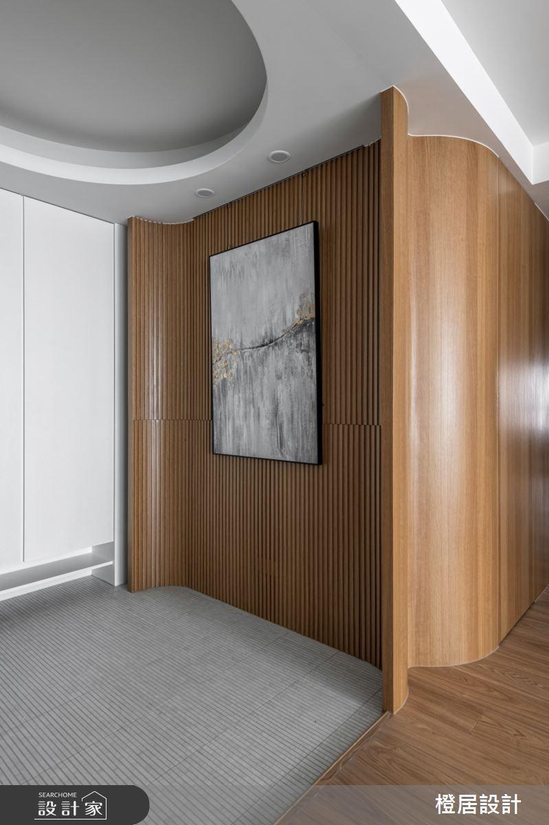 52坪新成屋(5年以下)_日式禪風玄關案例圖片_橙居空間設計有限公司_橙居_18之2