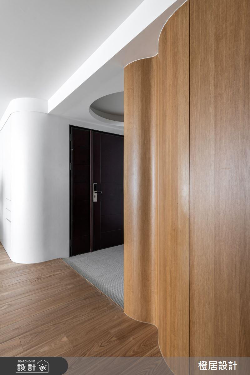 52坪新成屋(5年以下)_日式禪風玄關案例圖片_橙居空間設計有限公司_橙居_18之4