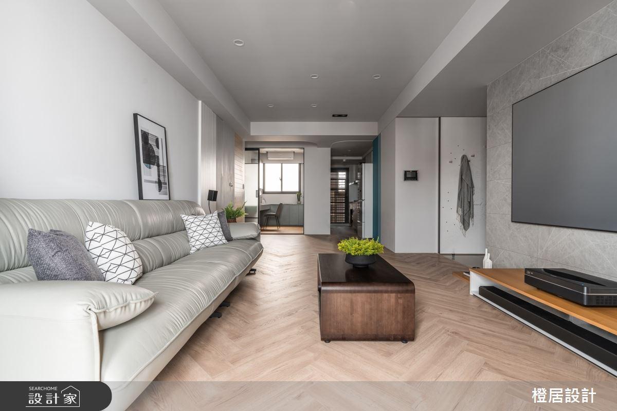 28坪新成屋(5年以下)_北歐風案例圖片_橙居空間設計有限公司_橙居_19之4