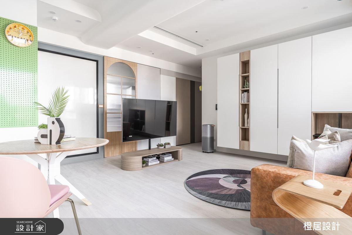 24坪新成屋(5年以下)_北歐風案例圖片_橙居空間設計有限公司_橙居_20之1