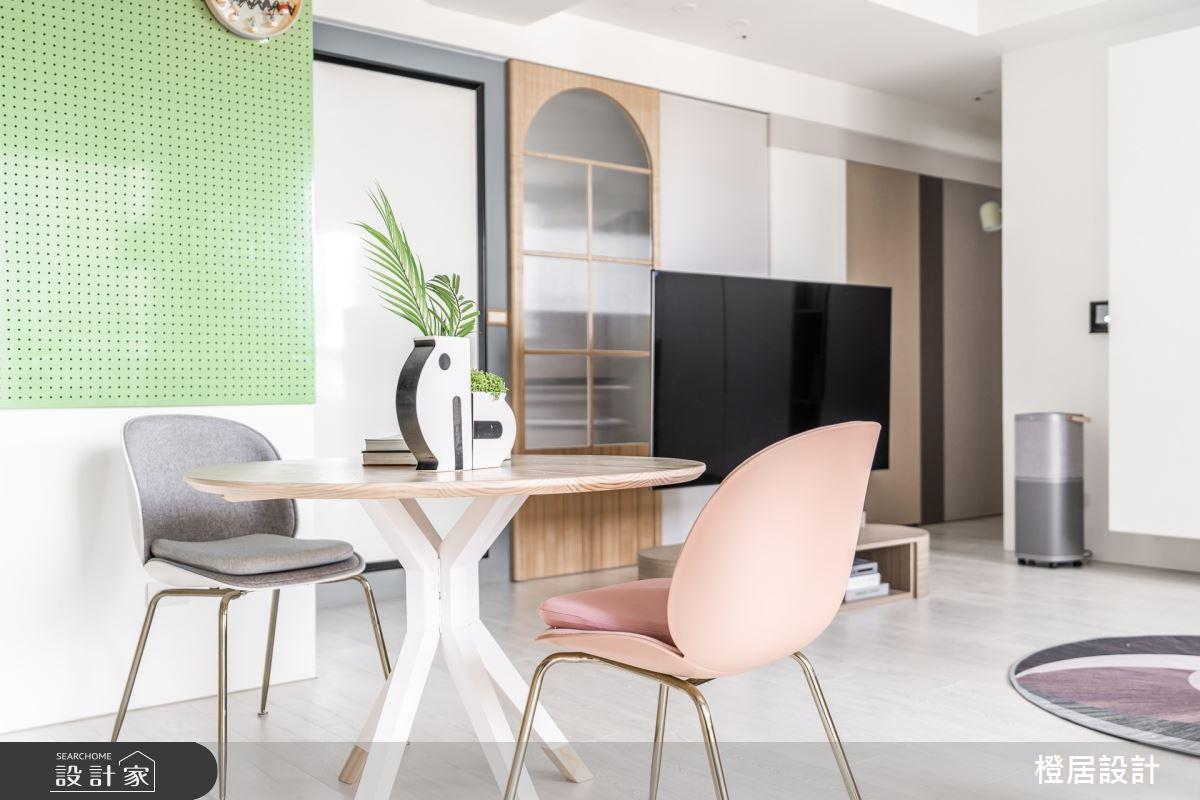 24坪新成屋(5年以下)_北歐風案例圖片_橙居空間設計有限公司_橙居_20之2