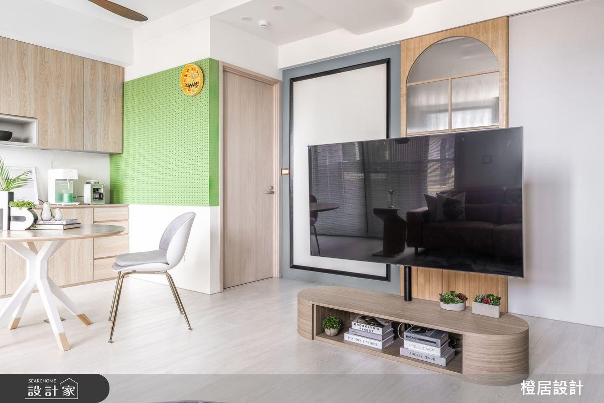 24坪新成屋(5年以下)_北歐風案例圖片_橙居空間設計有限公司_橙居_20之3