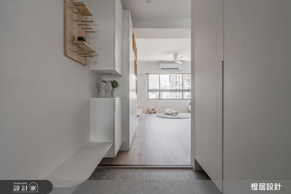 28坪新成屋(5年以下)_北歐風案例圖片_橙居空間設計有限公司_橙居_21之3