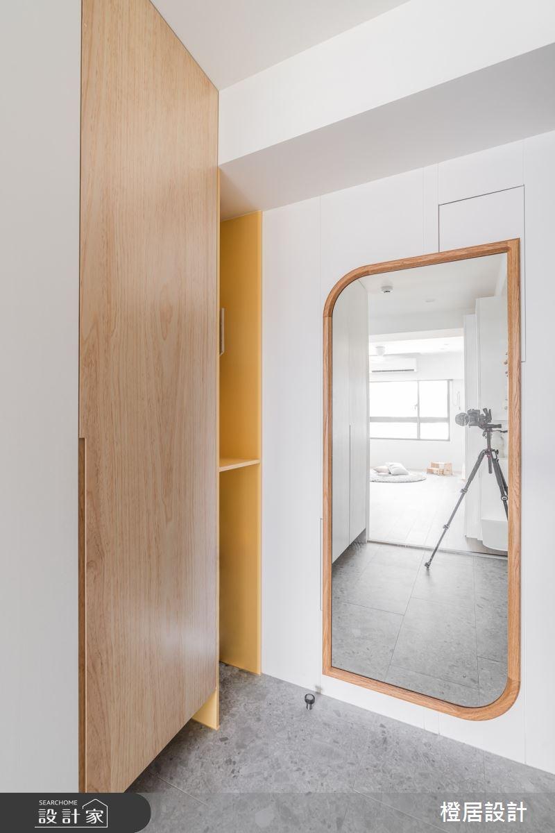 28坪新成屋(5年以下)_北歐風案例圖片_橙居空間設計有限公司_橙居_21之2