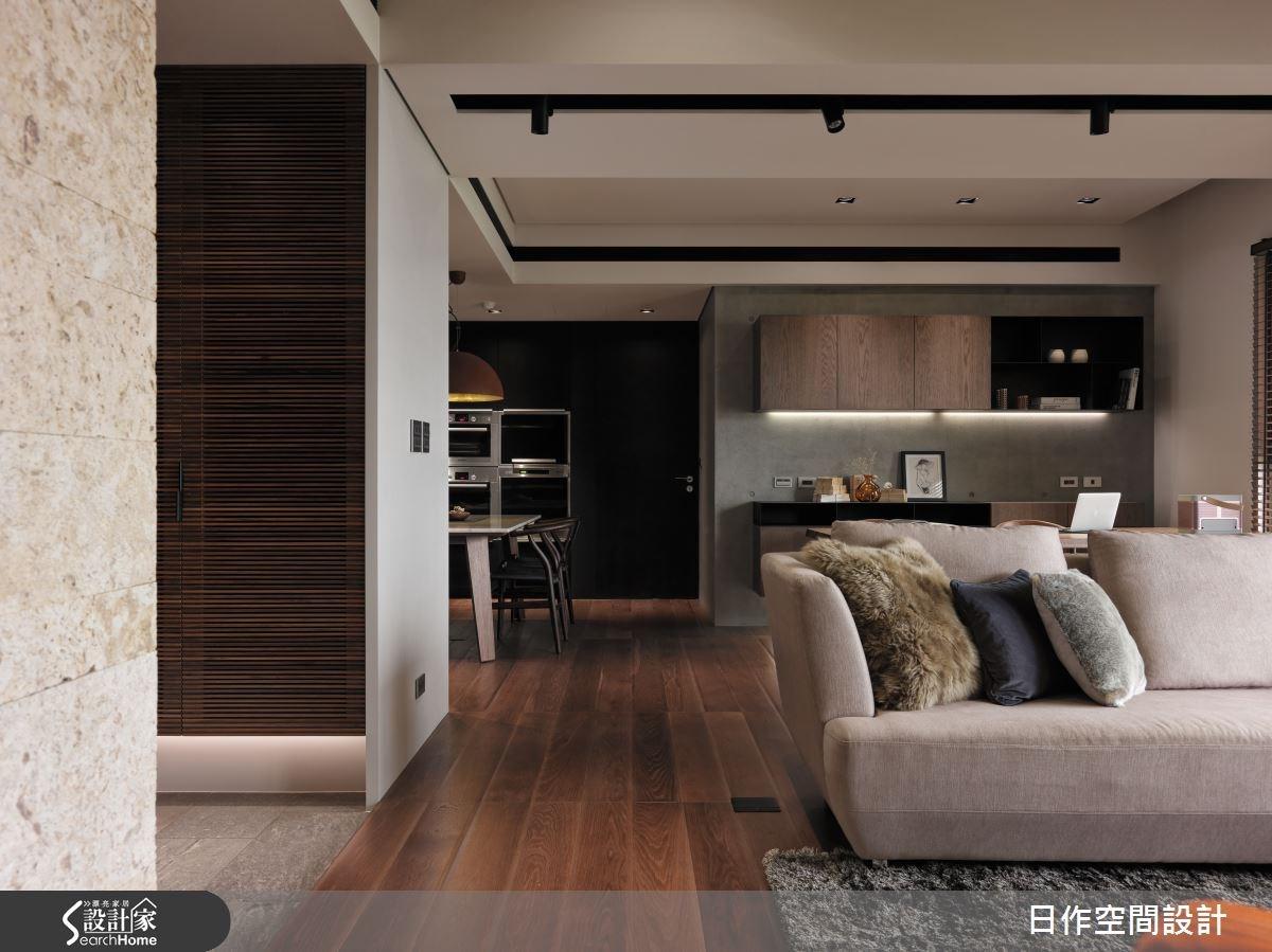 35坪新成屋(5年以下)_現代風客廳案例圖片_日作空間設計有限公司_日作_01之3