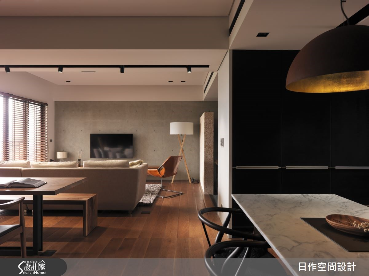 35坪新成屋(5年以下)_現代風案例圖片_日作空間設計有限公司_日作_01之9