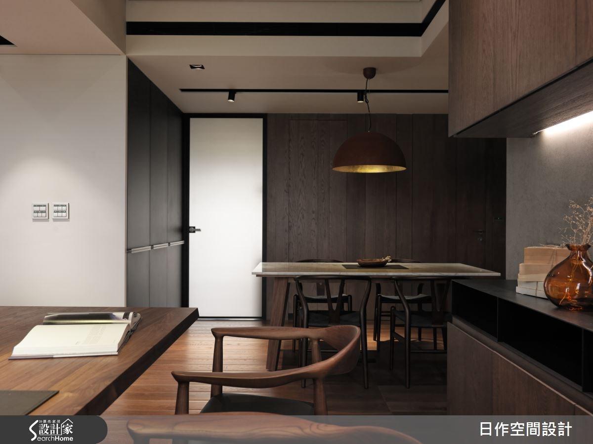 35坪新成屋(5年以下)_現代風餐廳案例圖片_日作空間設計有限公司_日作_01之10