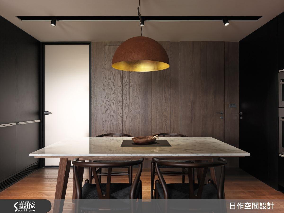 35坪新成屋(5年以下)_現代風餐廳案例圖片_日作空間設計有限公司_日作_01之14