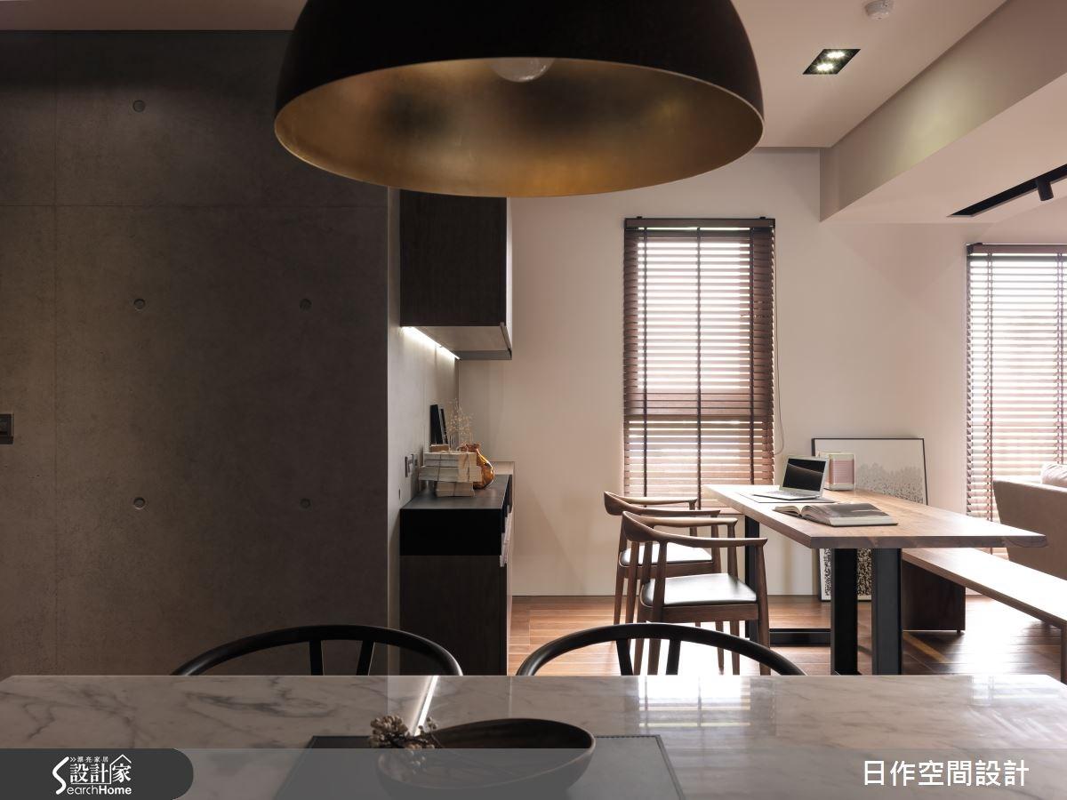 35坪新成屋(5年以下)_現代風書房案例圖片_日作空間設計有限公司_日作_01之15