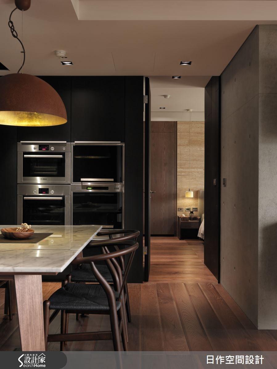 35坪新成屋(5年以下)_現代風餐廳案例圖片_日作空間設計有限公司_日作_01之16
