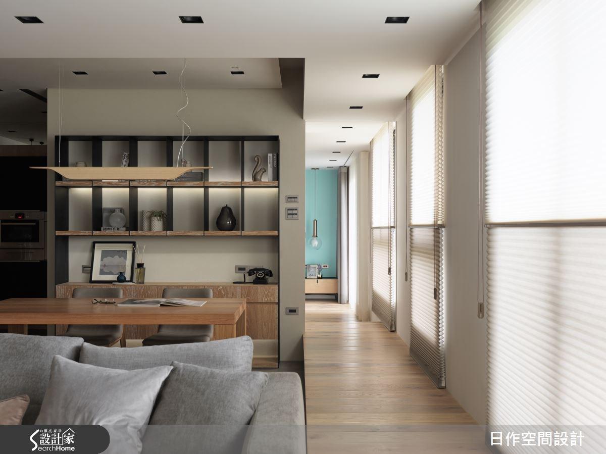 35坪新成屋(5年以下)_現代風書房案例圖片_日作空間設計有限公司_日作_02之7