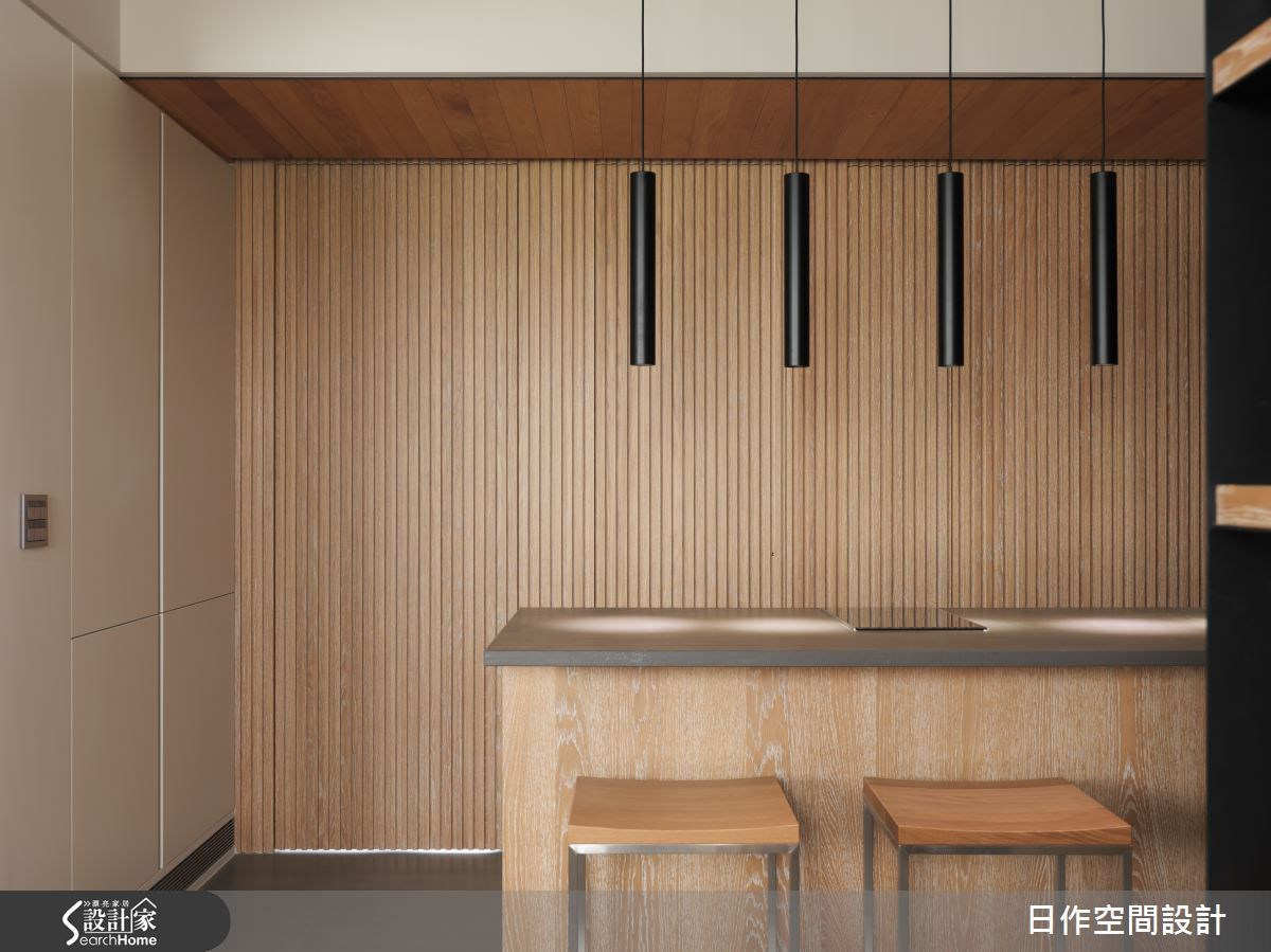 35坪新成屋(5年以下)_現代風吧檯案例圖片_日作空間設計有限公司_日作_02之13