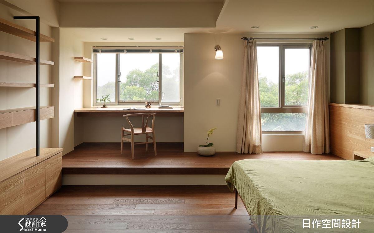80坪新成屋(5年以下)_混搭風臥室案例圖片_日作空間設計有限公司_日作_08之21